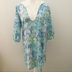Lilly Pulitzer Pick of the Bunch floral cover up